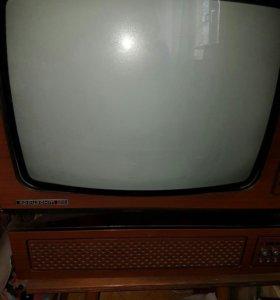 Телевизор Горизонт с усилителем