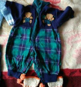 Одежда детская 2-5мес