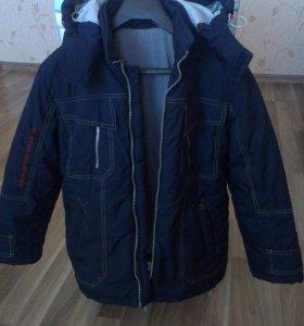 Куртка демисезонная на мальчика 7-9 лет