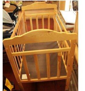 Новая детская кровать на колесиках (от склада)