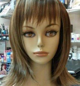Шикарный искусственный парик из морских натуральны