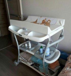 Ванночка - пеленальный столик