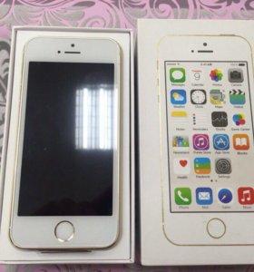 iPhone 5s 32gb Gold (Золотой) новый