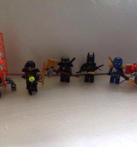 Мини Lego фигурки