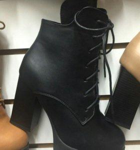 Новые ботинки весна/осень