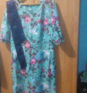 Платье в отличном состоянии 50-52