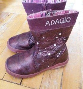 ботинки сапожки весенние