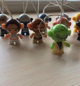 Коллекция Star Wars из киндер kinder