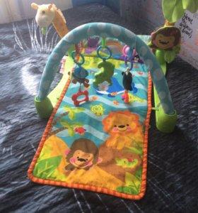 Развивающий коврик smart baby