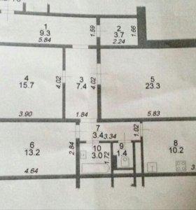 Продаётся 3-х комнатная квартира в Подольске