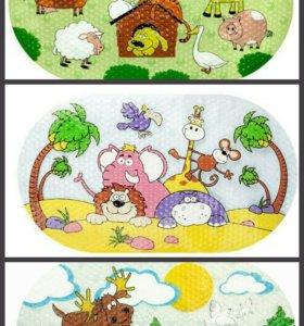 Детские коврики для ванн