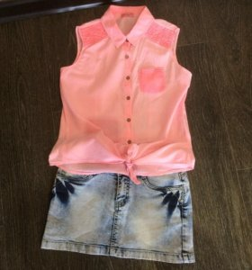 Рубашка и юбка