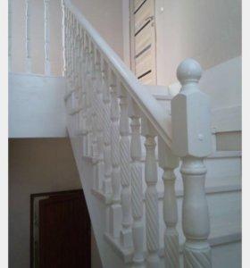 Лестница и балясины
