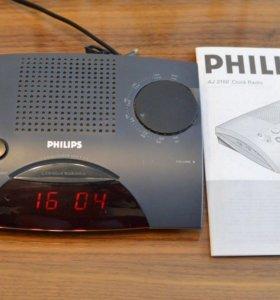 Настольные радио-часы Philips AJ 3150