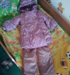 Зимний костюм Батик для девочки
