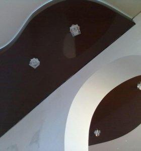 Натяжные потолки от простых до многоуровневых