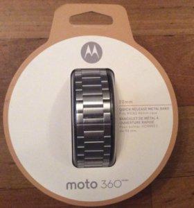 Motorola Moto 360 2 Band - Silver Metal (новый)