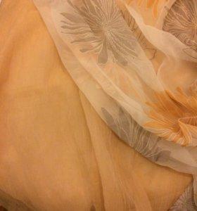 Тюль и портьерная ткань в остатках