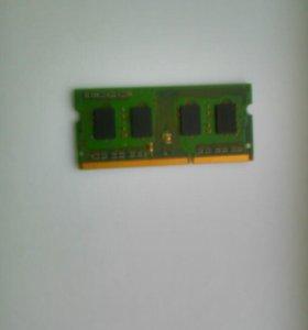 Оперативная память,Ддр3, 1Гб.