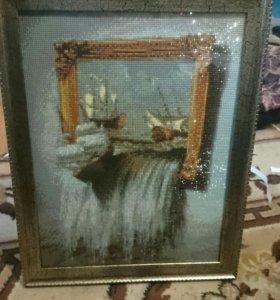 Продаю алмазные картины ручной работы