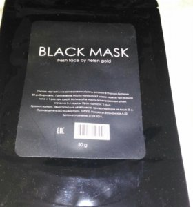 """Черная маска для лица Black Mask """"Fresh Face By He"""