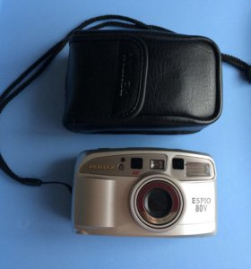 Фотоаппарат Pentax espio 80v пленочный