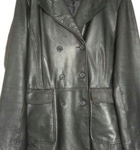 Кожаная куртка женская (пиджак)