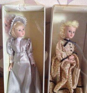 Фарфоровые куклы 6 штук