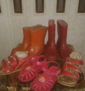 Детская обувь на мальчика и на девочку
