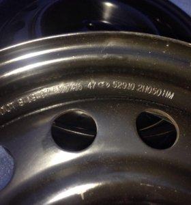 Новые диски штампованные