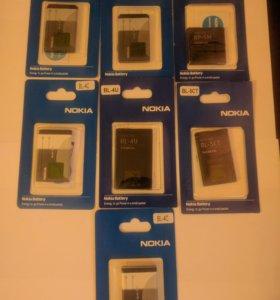 Аккумуляторы Nokia