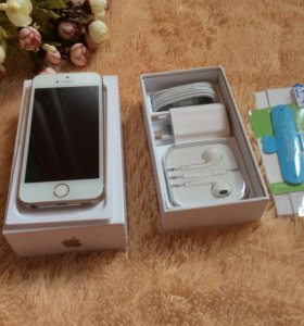 Новый Apple iPhone 5S gоld 16 gb🍏