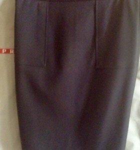 Zara классическая юбка карандаш, новая