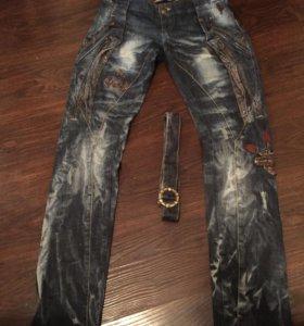 Стильные джинсы 28 размер