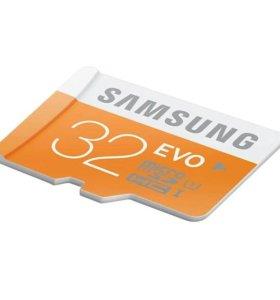 Флешка microSD на 32GB