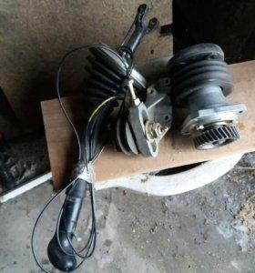 Рычаг,натежной ролик,привод вентелятора