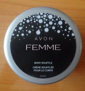 "Крем-суфле для тела Avon ""Femme"""