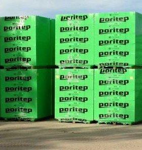 Блоки поритеп , доставка краном-манипулятором
