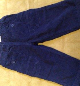 Вельветовые штанишки Benetton