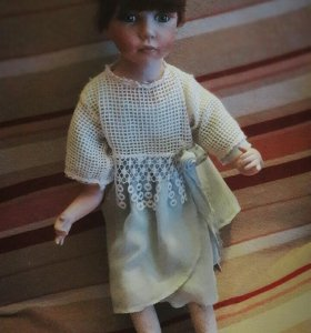 Кукла фарфоровая!