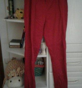 Бархатные брюки.