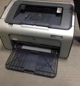 Принтер лазерный HP P1006 + запасной картридж