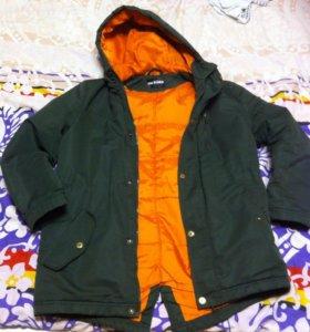 Куртка парка на осень