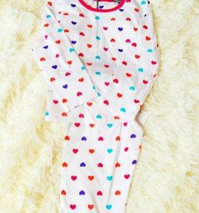Пижамка на девочку mothercare