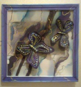 "Тикстиль, ""Пархающие бабочки"""