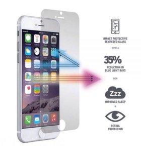 Защитное стекло на iPhone 5, 5s, 6, 6s