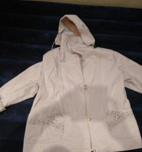 Куртка весеннее -осенняя р 58-60