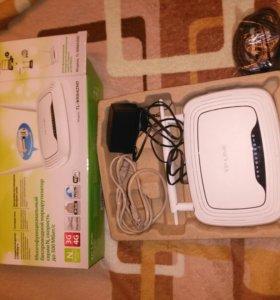 Роутер Wi-Fi TP link wr842nd