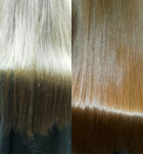 Полировка волос 👑