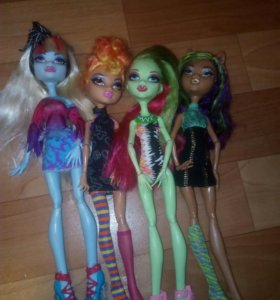 Куклы monster high оригинальные